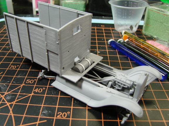 revell ambulance build