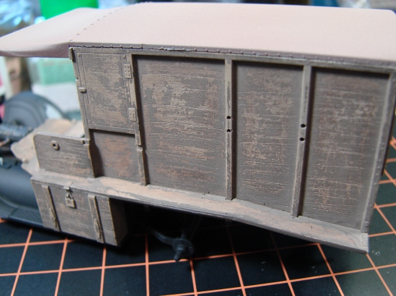 revell ambulance weathering